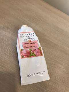 Crabtree & Evelyn Rosewater Hand Cream
