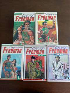 Entire Run of Crying Freeman - 46 issues by Viz Premier Comics (Complete)
