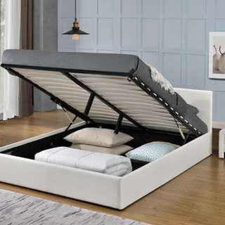 Brand New PU GAS LIFT BED FRAME