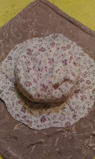 🚚 手做機縫小碎花布帽