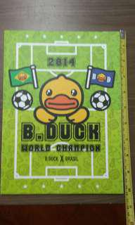 B Duck note book