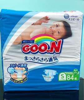 🚚 G.oon Japan Diaper size S(84pcs)(tape)