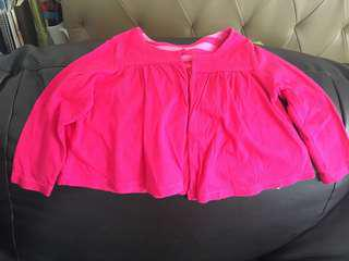 Preloved pink blazer for girl