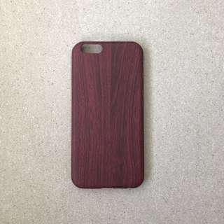 🚚 Dark Tone Wooden Pattern iPhone Case