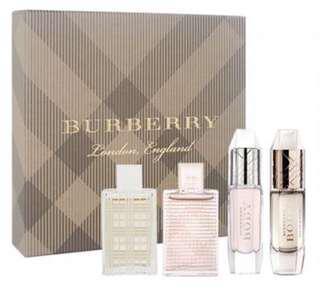 BURBERRY經典隨行女性香氛禮盒組4入