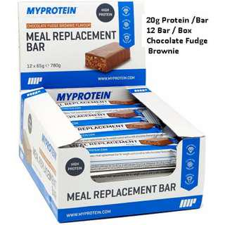 Meal Replacement Bar Protein myprotein [ Listed : Sept 2018 ]