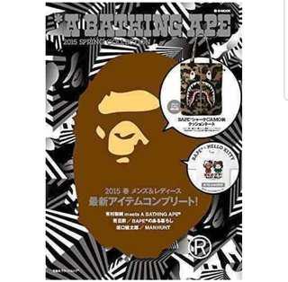 [Juniorcloset] FREE POSTAGE 🆕️ A bathing ape Bape Camo shark tote bag x Mag collab