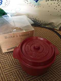 日本COCOPOT鑄鐵鍋造型便當盒