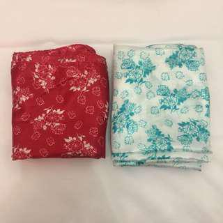 JILBAB SILK FLORAL/take all 22k