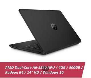 #mcsgadget Hewlett Packard AMD DUAL CORE A6 9220