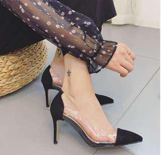 Brand New Transparent Heels