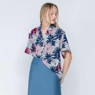 Shopatvelvet Floral Tropic Shirt