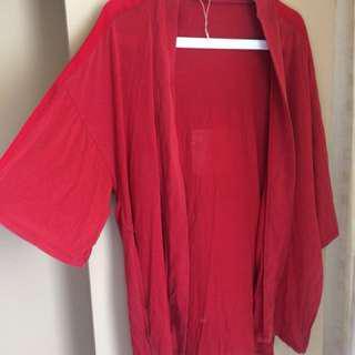 Zara Cardigan red
