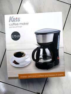 Kris Coffee Maker 0.75L Baru