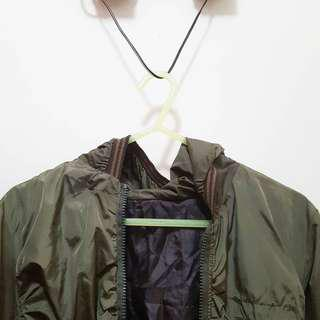 Army Green Spray Jacket