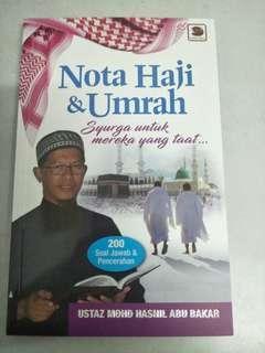 Buku Nota Haji dan Umrah