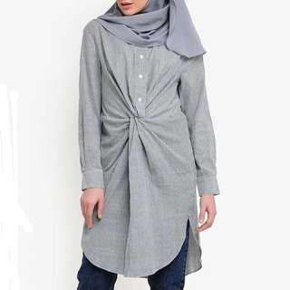 Knot Blouse Zara inspired