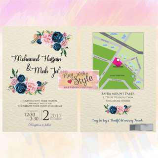 WC30 ~ Wedding Card