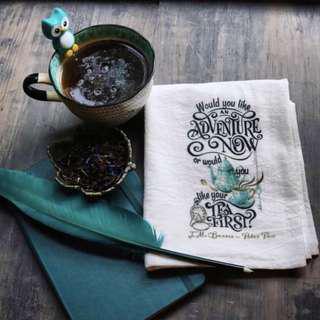 Litjoycrate Peter Pan Tea Towel
