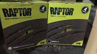 UPOL RAPTOR LINER 4 litre kit