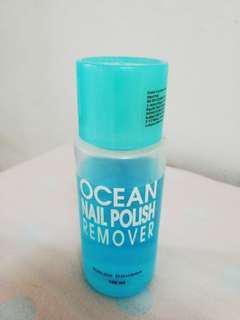 Ocean nail polish remover