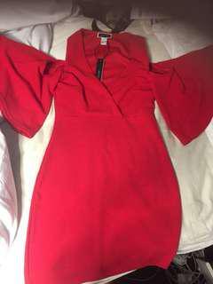 Brand new sexy red dress