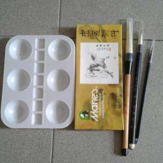 Chinese Painting Colour Set