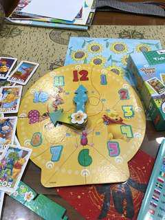 波蘭時鐘教學玩具