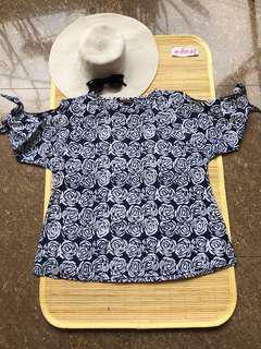 Shoulder Blouse by Batik Gaya