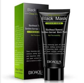 Bamboo Charcoal Blackhead Remover / Peel off Mask
