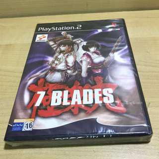 PS2 game 7 Blades