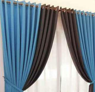 Home made curtains W150H200