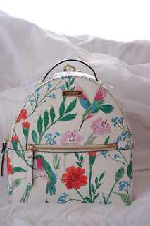 Kate Spade Sammi Laurel Way Hummingbird Floral Backpack