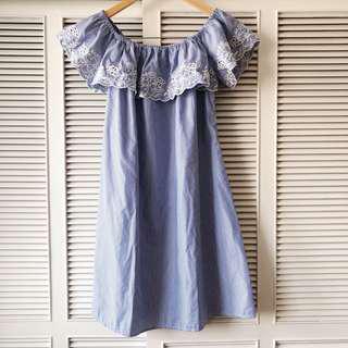 Debenhams Red Herring Blue Dress