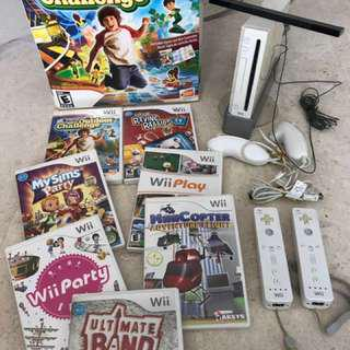 WII GAMES CONSOLE, Accessories & Games