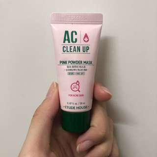 Etude House 包郵cleaning mask for acne skin