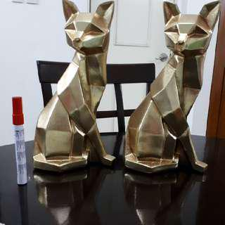 Poly Resin CAT HOME ACCENT