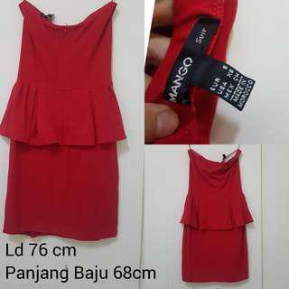 Dress Merah Mango
