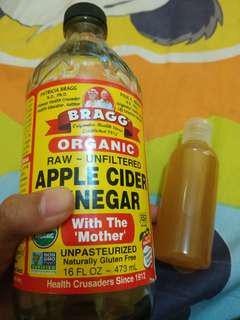 Pure Bragg Apple Cider Vinnegar 60ml