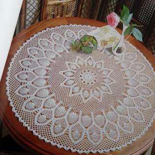 Taplak Meja Rajut Handmade