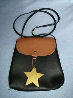 Star Decoration Sling Bag
