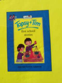 preloved ladybird topsy tim collection