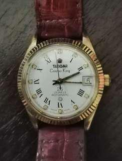 Titoni Cosmo King mid size gold filled vintage watch