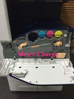 Fuji Xerox Meter Charge