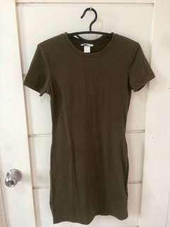 Basic fitted dress from H&M