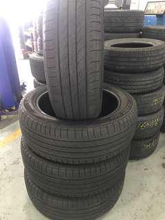 Tayar Second235/55/20 Dunlop SPORT MAXX 050 1set 4pcs