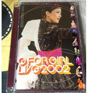 Gigi Leung G For Girl Live 2002 DVD