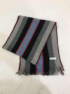 🚚 9.5成新 Paul smith 針織圍巾