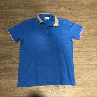 G2000 Polo Shirt Blue with Gray / Pink Colad