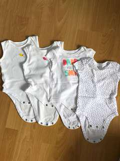 ‼️SALE‼️ 4pcs for 110php onesie for babies
